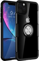 SQM Carbon Fiber Anti-Fingerprints Crystal Clear Case